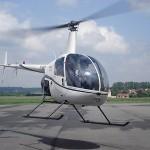 Vol d'initiation au pilotage hélico